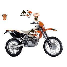 BLACKBIRD SADA POLEPŮ KTM EXC '01-'02 (15) DREAM 3