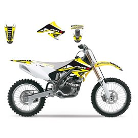 BLACKBIRD SADA POLEPŮ SUZUKI DREAM RMZ 250 '04-'06 (12)