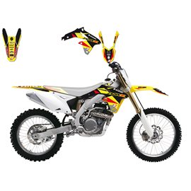 BLACKBIRD SADA POLEPŮ SUZUKI RMZ 450 '08-'14 (14) DREAM 3