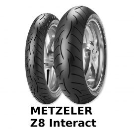 Sada pneu Metzeler Roadtec Z8 Interact (120/70-17 + 190/50-17)
